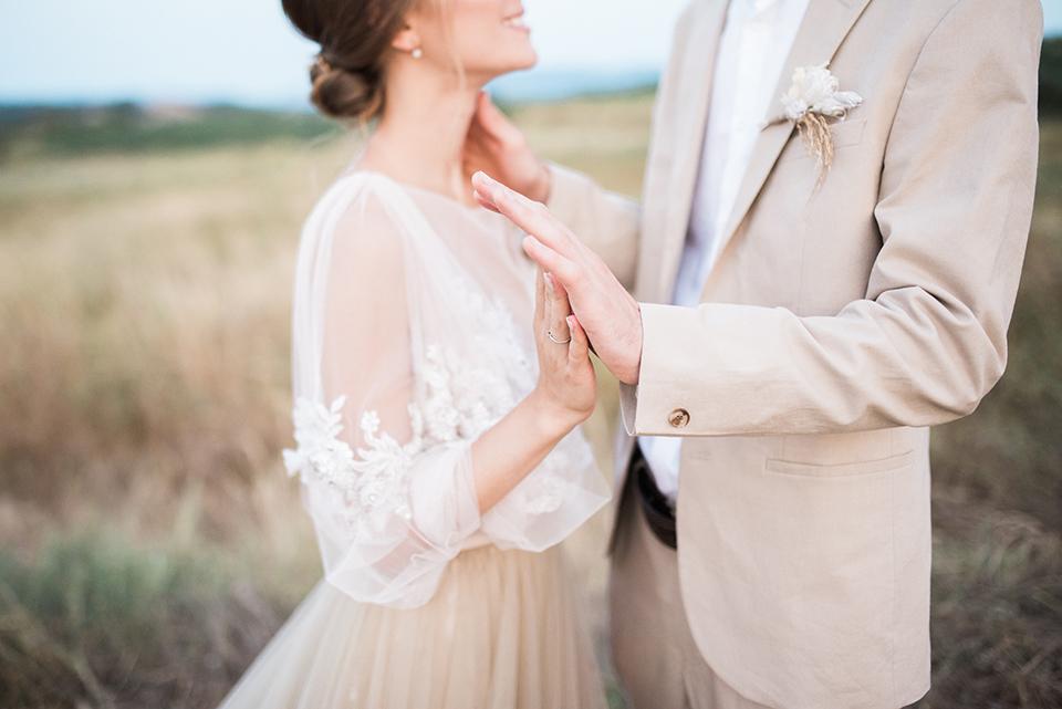 fotografía de una boda íntima y con encanto